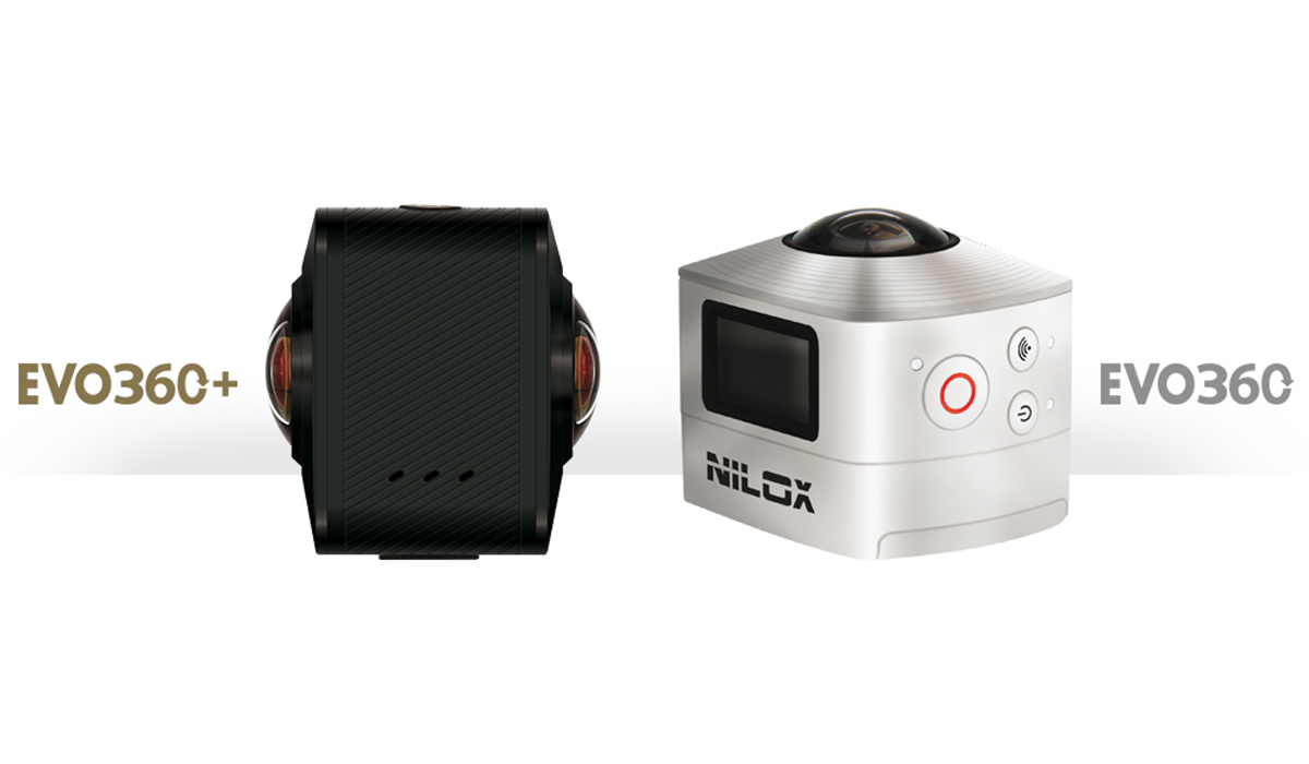 Nilox EVO 360+ and EVO 360: two new action cams for 360° movies