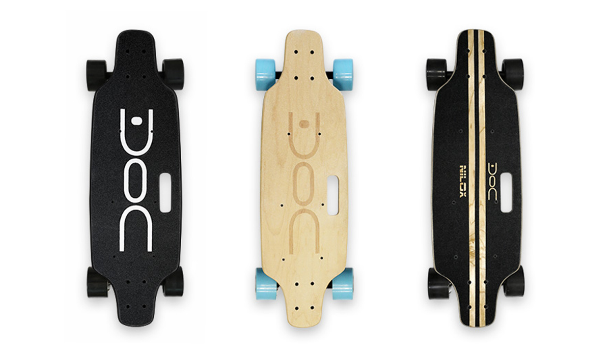 Welcome DOC Skate: the electric skateboard by Nilox