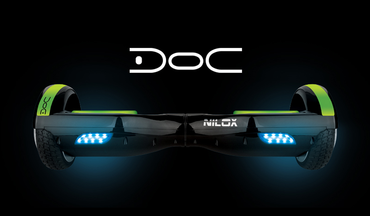 This is DOC: Nilox is back from the future to make Italians fly